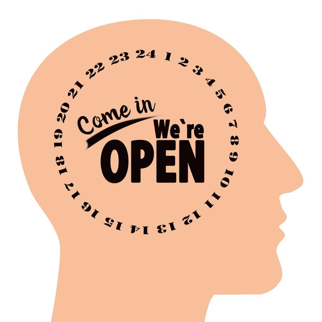 opening hours, open