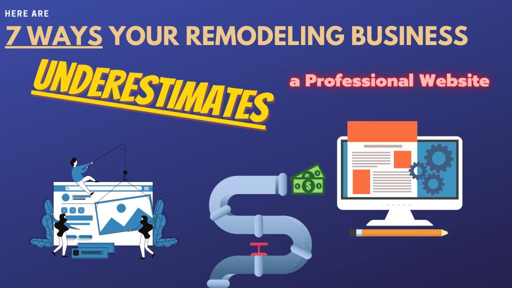 Remodeling Business Website